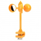 Windmill Style ABS Rotating Reflective Bird Repeller - Orange