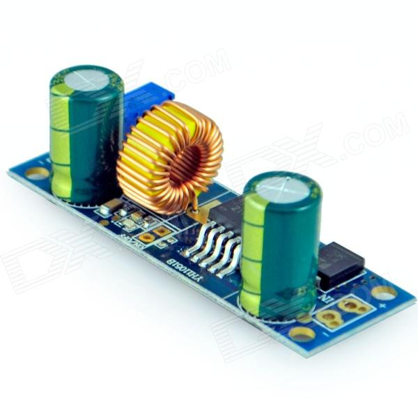 Adjustable Step-Down Module - Blue (DC-DC 5A) dc dc automatic step up down boost buck converter module 5 32v to 1 25 20v 5a continuous adjustable output voltage