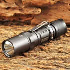 JETBeam PA10 Cree XM-L T6 650lm 1-Mode White Flashlight - Grey (1 x AA / 14500)
