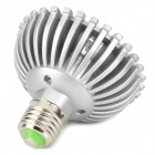 E27 7W 560lm 3500K 7-LED Warm White Bulb Spotlight - Silver (90 ~ 265V)