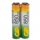 GP 1.2V 850mAh Ni-MH Rechargeable AAA Batteries - (2 PCS)