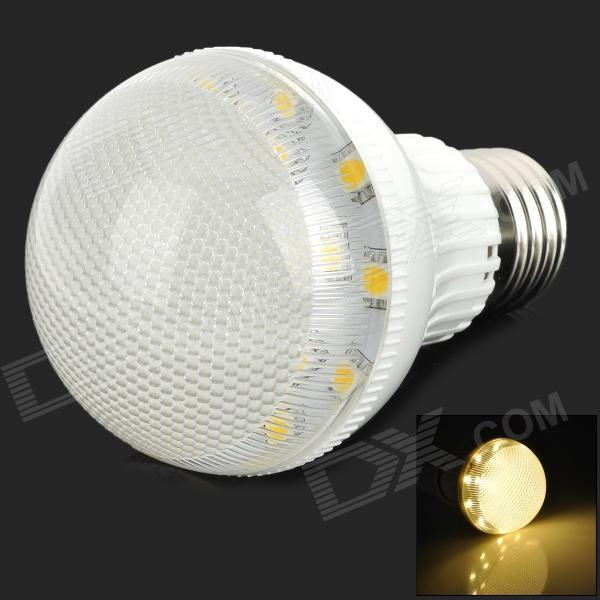 TB-LL-4W-01-NBG E27 3.5W 150lm 3500K 19-SMD 5050 LED Warm White Light Bulb - White (220V)