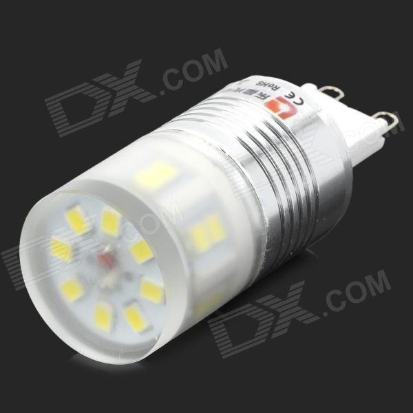 Lexing G9 2.5W 260lm 20-2835 SMD LED White Light Bulb Lamp (220~240V) - DXG9<br>Brand Lexing Model LX-YMD-022 Material Aluminum + ceramic + acrylic Color White + silver Quantity 1 Emitter Type 2835 SMD LED Total Emitters 20 Power 2.5 W Color BIN White Rate Voltage 220~240 V Luminous Flux 220~260 lm Chip Working Voltage 3.0~3.4V Color Temperature 6000~7500 K Wavelength N/A nm Connector Type G9 Application Lightning Packing List 1 x Lamp<br>