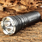 SUNWAYMAN M60C CREE XM-L2 T6 2500lm 9-Mode White Flashlight - Black (3 x 18650 / 6 x CR123A)