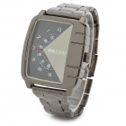 PAIDU Unique Stainless Steel Digital Pointer Quartz Wrist Watch for Men - Black