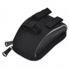 ROSWHEEL 11810 Outdoor Cycling PU + PVC Bicycle Handlebar Bag w/ Transparent Cellphone Case - Black