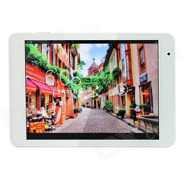 "RAMOS X10pro MTK8389 Quad Core 7.85"" Android 4.2 w/ 1GB RAM, 16GB ROM, 3G, GPS - White + Silver"
