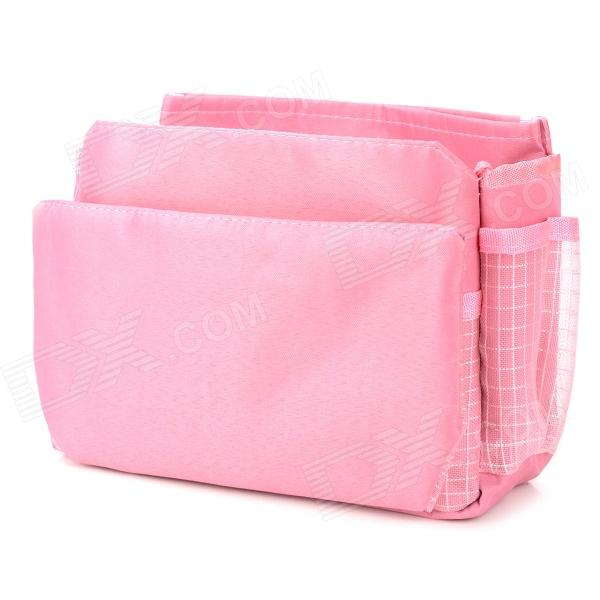 F Multifunction Large Insert Storage Cosmetic Bag Organizer - Pink Oakland Покупаю по объявлению