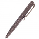 LAIX B8 Aluminum Outdoor Self-Defense EDC Tactical Black Ink Pen - Brown