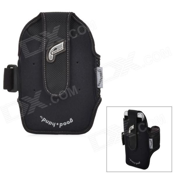 good.hand 13100 Outdoor Cycling Neoprene Arm Case for Cellphone - Black