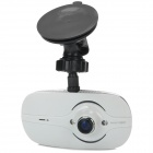 GF6000L 140' Wide Angle 2MP CMOS FHD 1080P Novatek Car DVR w/ G-Sensor / IR Night Vision - White