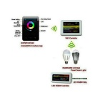 2.4GHz WiFi LED Controller for LED Bulb / Strip - White + Black