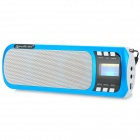Liweek L580 Digital FM Radio Media Player Speaker w/ TF / Antenna - Blue + White + Black
