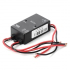 3A 12V Solar Power Charge Controller - Black
