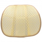 Breathable Mesh Waist Support Cushion for Home / Office / Car Seat Chair - Gray + Off-white