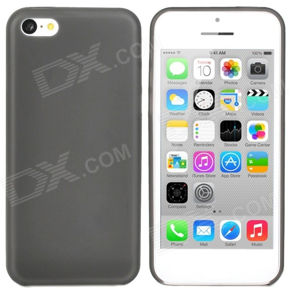 Ultrathin Protective PC Back Case for Iphone 5C - Translucent Grey