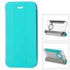Baseus Protective PC Back Case + PU Leather Cover Stand for Iphone 5 / 5s - Green