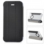 Baseus    Protective PC Back Case + PU Leather Cover Stand