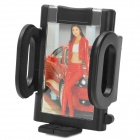 Universal Convenient Car Air Outlet Louver Mounted Cellphone ABS Holder for Iphone More - Black