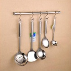 021 Multifunction S-Shape Outdoor Camping / Kitchen Stainless Steel Hanging Hooks - Silver (6 PCS)