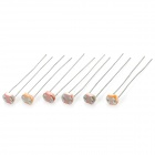 5mm Photo Resistors Set - Silver + Red (6 x 10 PCS)