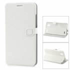 HELLO DEERE PU Leather Stand Case w/ Card Slot for BBK VIVO X5 - White