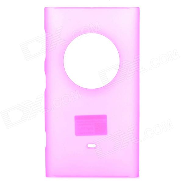PUDINI WB1020Y Protective Frosted PC Back Case for Nokia Lumia 1020 - Deep Pink protective matte frosted screen protector film guard for nokia lumia 900 transparent