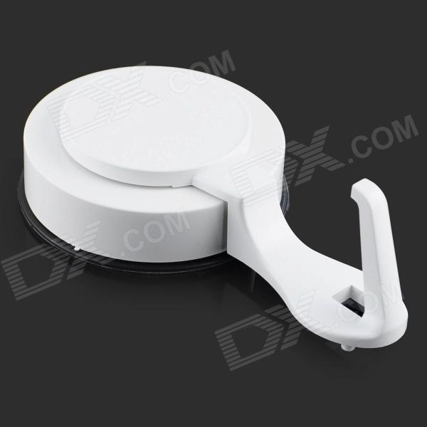 Powerful Vacuum Suction Hooks - White