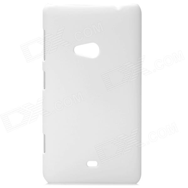 Stylish Protective Frosted PC Back Case for Nokia Lumia 625 - White stylish protective pc back case for nokia lumia 1020 blue