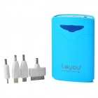 LeYou LY-590 External 5200mAh Power Battery Charger Power Bank for iPhone / Samsung / Nokia - Blue