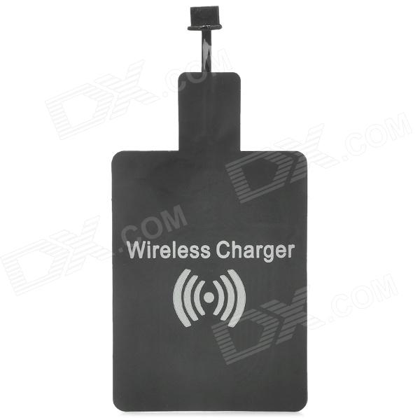 Internal Universal Wireless Charger Charging Receiver Module w/ Micro USB Port - Black universal qi wireless charger for cellphone black