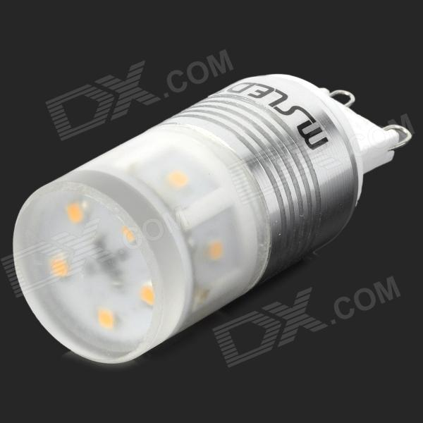 Msled G9 5W 220lm 3500K 11-2323 SMD LED Warm White Light Lamp Bulb (96~265V) msled gf05 g9 5w 220lm 3500k 5 cob led warm white light crystal lamp silver yellow ac 96 265v