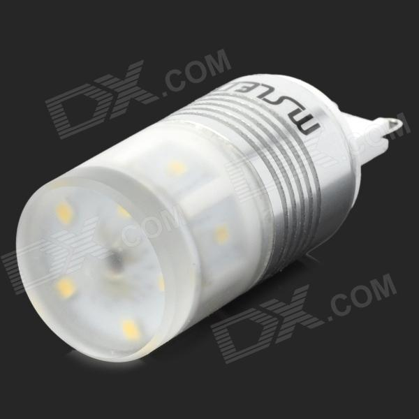 MSLED G9 5W 220lm 6500K 11-2323 SMD White Light LED Lamp (96-265V) msled gf05 g9 5w 220lm 3500k 5 cob led warm white light crystal lamp silver yellow ac 96 265v