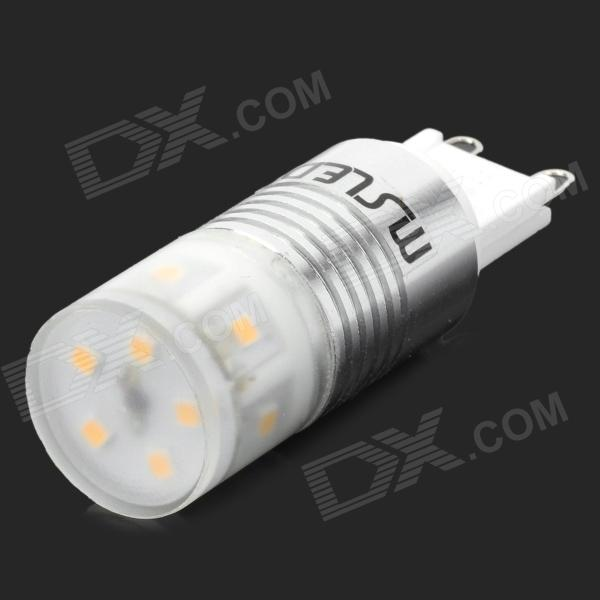 Msled G9 3W 220lm 11-5050 SMD LED Warm White Light Bulb Lamp (220~240V) e14 3w 270lm 6500k white non dimmable led candle candelabrum lamp bulb silver 6 pcs