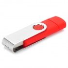 Celular externo USB / Micro USB Flash Drive - Red + Silver (16GB)