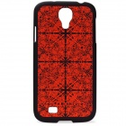 Benks Protective PC Back Case w/ Screen Protector for Samsung Galaxy S4 i9500 - Red + Black