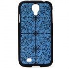 Benks Protective PC Back Case w/ Screen Protector for Samsung Galaxy S4 i9500 - Blue + Black