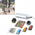 Turbospoke Turbo Motorcycle Sound Effects Exhaust Sounder - Silver