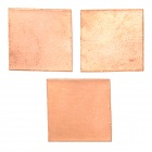 15 x 15 x 0.5mm Copper Graphics Thermal Pad / Cooling Pad (3 PCS / Golden)