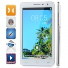 "GT-N7200 MTK6589 Quad-Core Android 4.2.1 WCDMA Bar Phone w/ 6.0"", GPS, Wi-Fi and FM - White + Silver"