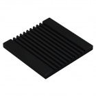 40120026 Aluminum Heatsink Radiator - Black (37 x 37 x 3mm)