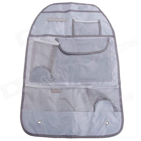 HELE Car Seat Back Pocket-Storage Organizer Bag - Grey huf футболка huf classic h pocket tee white