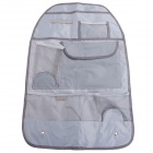 HELE Car Seat Back Pocket-Storage Organizer Bag - Grey