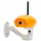 "KS-6680 1/4"" CMOS Wi-Fi Wireless Camera / Baby Monitor - Orange"