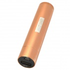 Hotsion MP2008-2 5V 2000mAh 18650 Li-ion Battery Power Bank for Iphone 4 / 4S / 5 + More - Golden