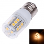 ZIYU ZY-0909 E27 5W 450lm 3000K 24-SMD 5050 LED Warm White Light Lamp Bulb - Yellow + Silver + White