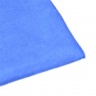 60 x 30cm Multi-functional Microfiber Nanometer Car Washing / Hand Towel - Blue