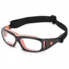 OBAOLAY OB005 Sport Football Basketball Protection Goggles - Orange + Black