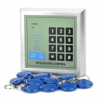 AD2000-M Access Control ID Stand-alone Single Door System w/ Keys - Silver + Grey + Black + Blue