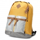 SHISHA PANGMA Young Style 1308005103 Multifunction Backpack - Earthy Yellow + Grey + Coffee